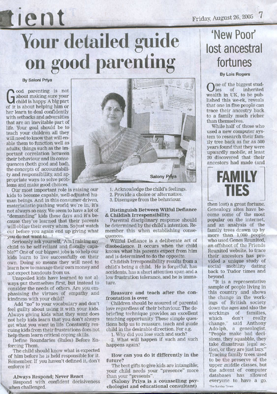 parenting variations classifieds article